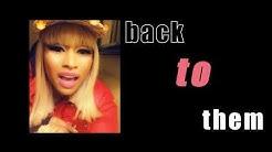 Nicki Minaj - Big Bank (nicki verse- Lyric Video)