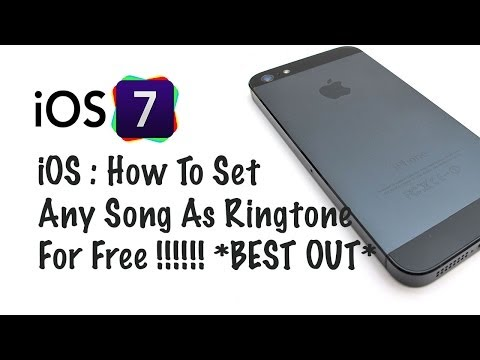 iOS 7 : How To Set Any Song As Your Ringtone On Your iPhone NEW TUTORIAL 100% WORKING