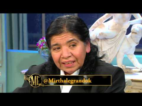 La noche de Mirtha 2014 - Margarita Barrientos visitó a Mirtha Legrand