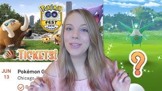 WILL I CATCH SHINY LATIOS? + Getting Go Fest Tickets! Pokémon Go New York City Vlog
