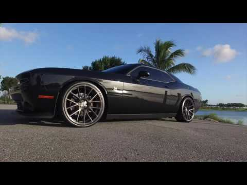 Spin Forged Series: Custom Scat Pack Dodge Challenger on XO Luxury XF-1 Wheels