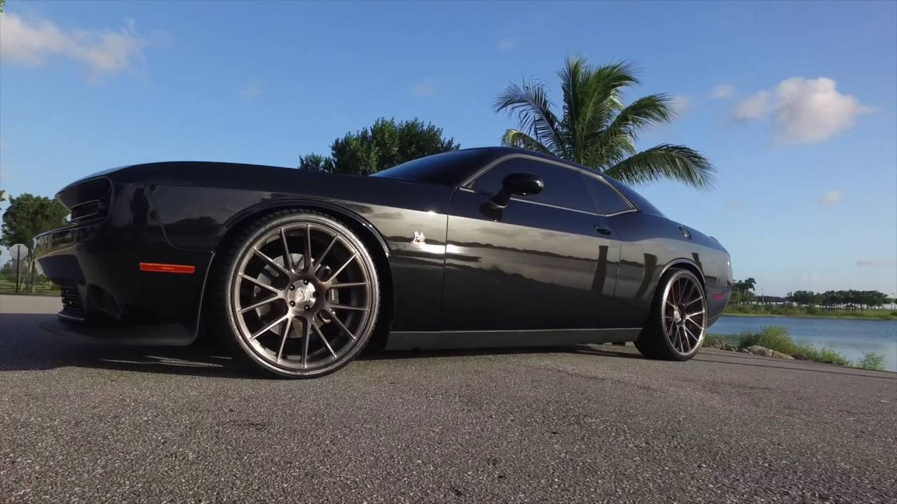 Spin Forged Series Custom Scat Pack Dodge Challenger On Xo Luxury