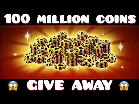 OMG!!!100 Million Coins Account Giveaway 1.6   8 Ball Pool By Miniclip