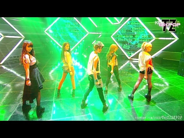 f(x)에프엑스 - ELECTRIC SHOCK 일렉트릭쇼크 Stage Mix~~!!