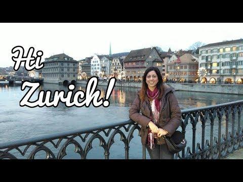 VLOG : Travelling to Zurich!