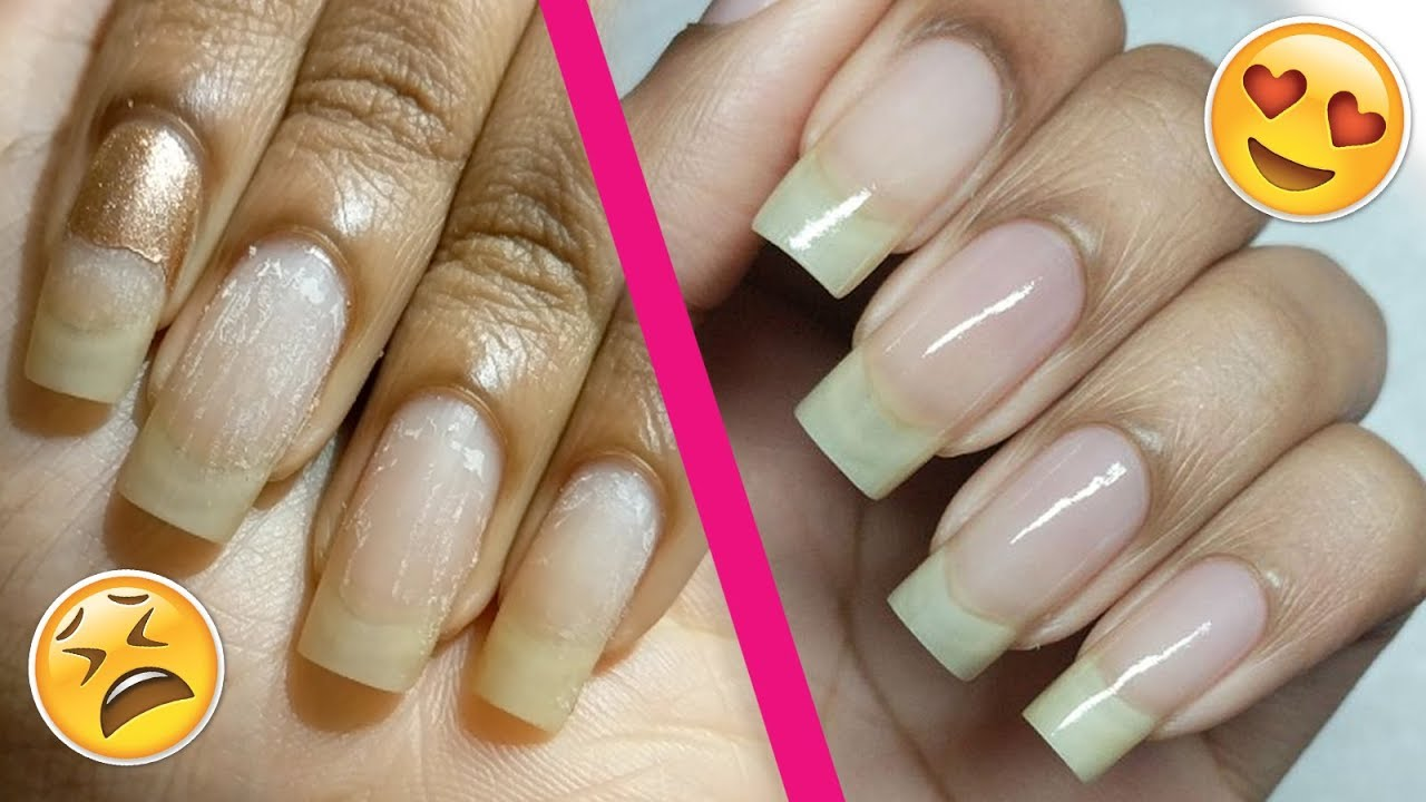 How To Buff Your Natural Nails Like a Boss!👌😏