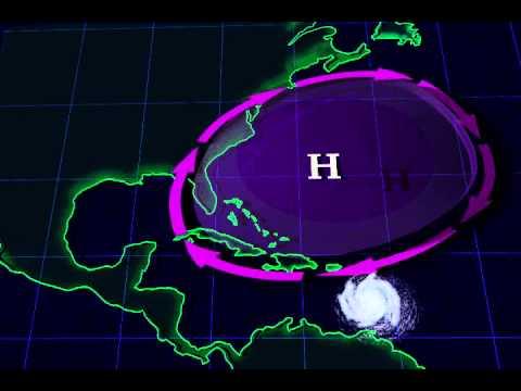 Hurricane Seasons 2004, 2005, and the Bermuda High - YouTube