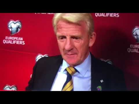 Gordon Strachan post Slovenia