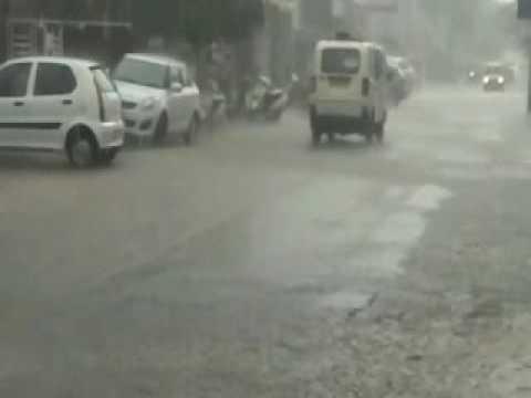 Heavy Rain in kota