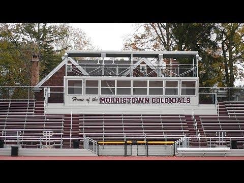 Morristown High School's New Bleachers