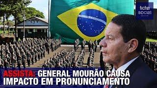 GENERAL MOURÃO FAZ PRONUNCIAMENTO CONTUNDENTE PARA EMPRESÁRIOS - GOV. BOLSONARO