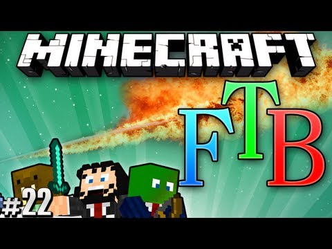 Minecraft Feed The Beast #22 - Wand of Fire
