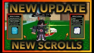 THUNDER GOD AND PAPER SCROLL|[037] UPDATE SPAWN LOCATION!!|ROBLOX Naruto RPG- Beyond |