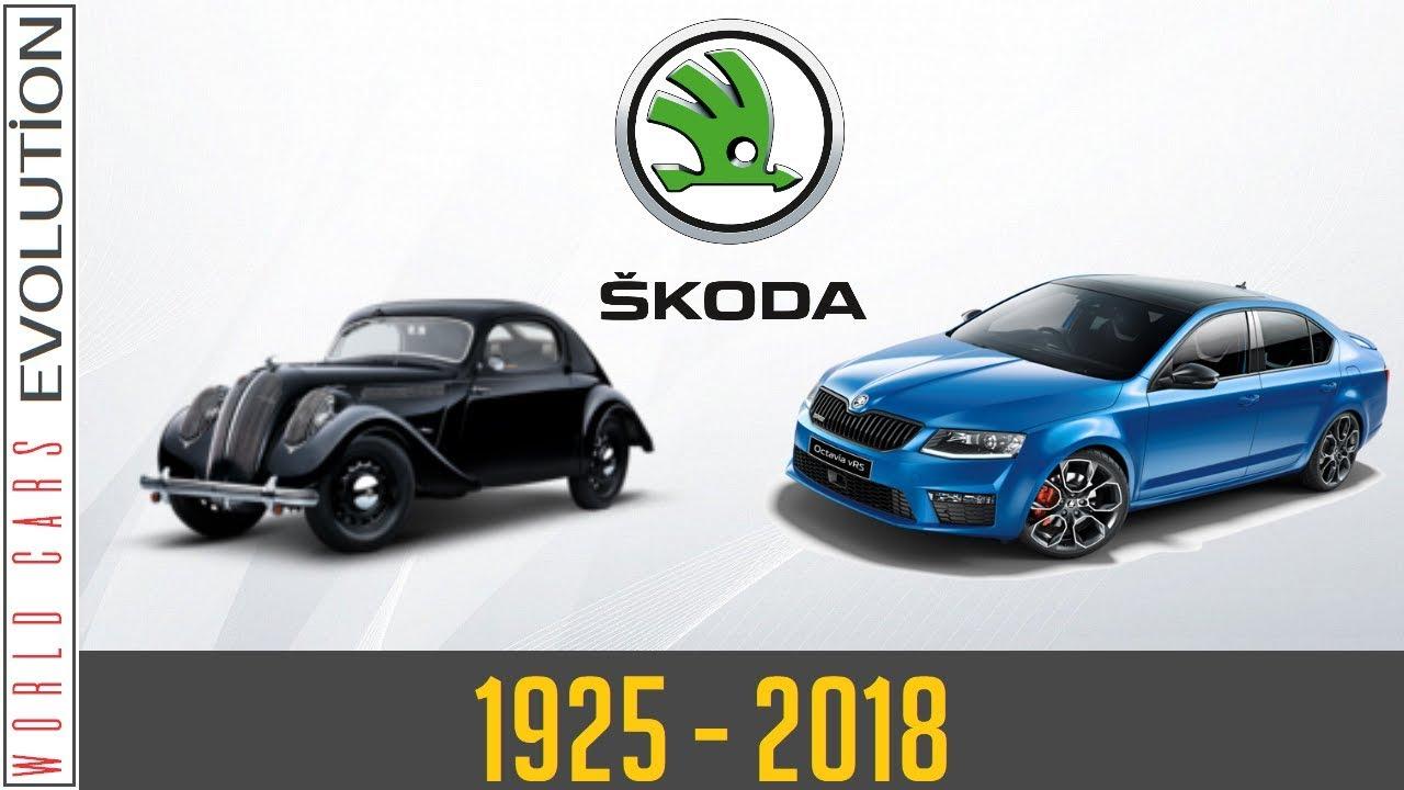 a9f0a43b65 W.C.E - Škoda Evolution (1925 - 2018) - YouTube