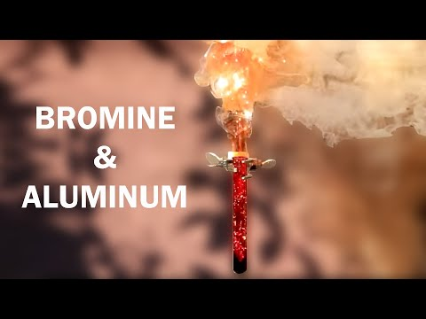 Reacting Bromine And Aluminum