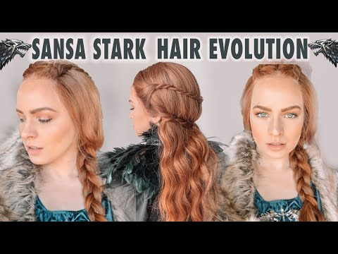 Fashion Finds - The Evolution of Sansa Stark Hairstyles
