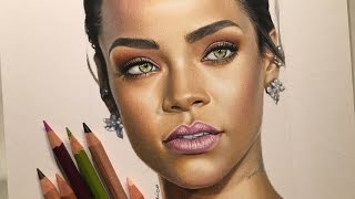 Portrait Of Rihanna