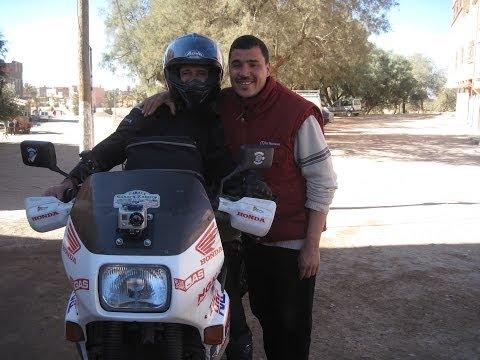[Slow TV] Motorcycle Ride - Morocco - Zagora to Alnif