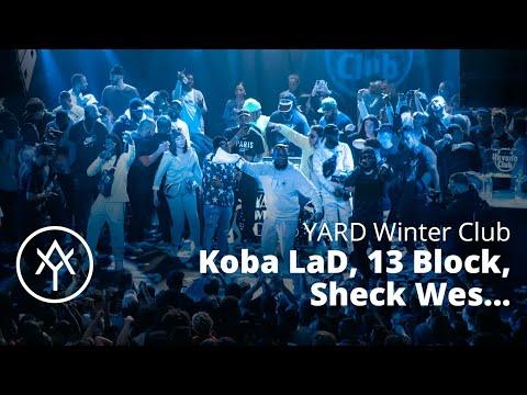 Sheck Wes, Koba LaD, 13 Block, Josman, Leto brûlent le YARD Winter Club 2019