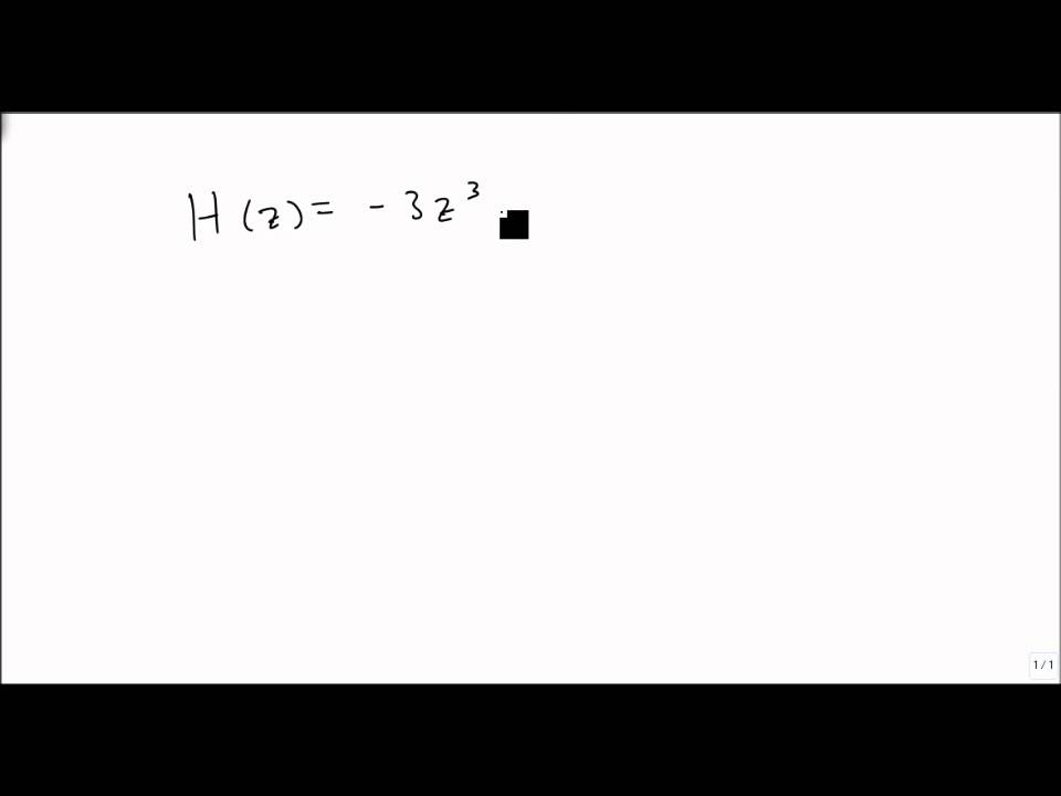 4.7.2 Write Polynomial Function in Factored Form - YouTube