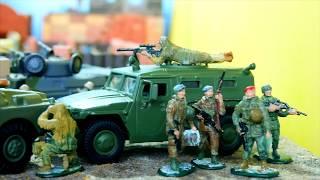 Задание. Освобождение заложников. Военные солдатики. Мультик про солдатиков (2019)