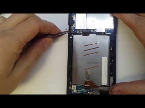 Sony Xperia L1 G3311, G3313 Disassembly LCD Replacement