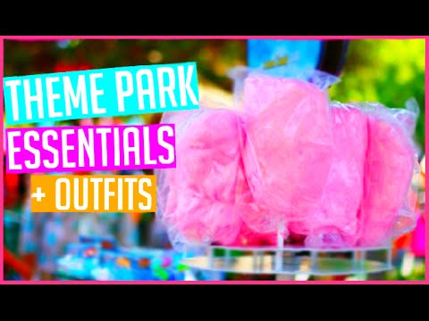 Theme Park Essentials and Outfit Ideas! Six Flags Great America 2015