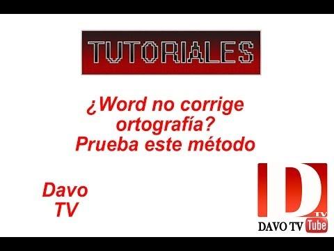 WORD 2016: Corregir Faltas con Ortografía y Gramática en Word. from YouTube · Duration:  2 minutes 38 seconds
