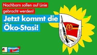 Jetzt kommt die grüne Öko-Stasi! - AfD-Fraktion im Bundestag