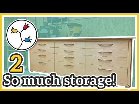 workbench-with-drawers-–-lots-of-storage,-super-sturdy-(2/2)