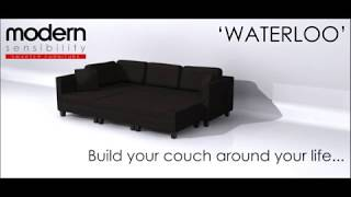 Modular Sectional Sofa | The Waterloo | Modern Sensibility