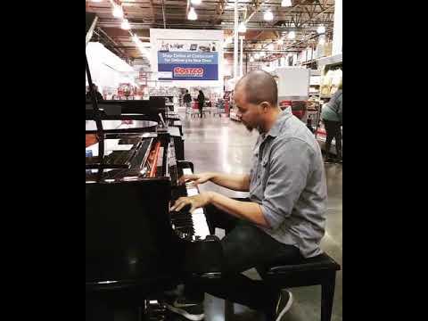Piano Freestyle at Costco