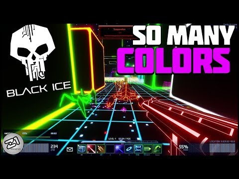 Black Ice Gameplay Episode 1! Borderlands Meets TRON! Cyber Shooter | Z1 Gaming