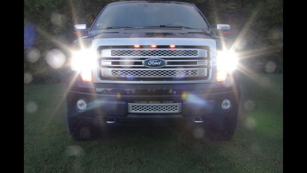 small resolution of f150leds cree led headlight f150 system how to install f150leds com youtube