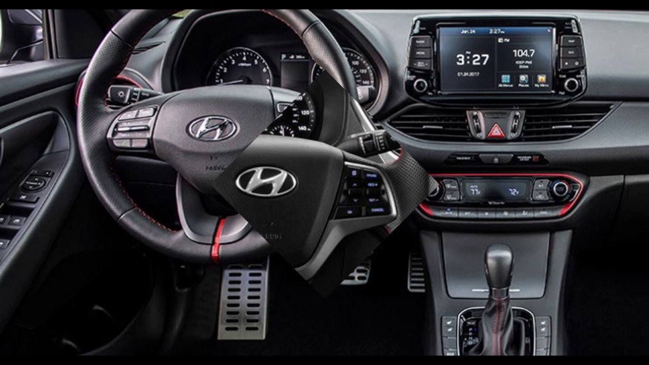 2018 The Hyundai New Accent Interior Youtube