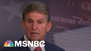 In Leaked Audio, Sen. Manchin Signals Support For Filibuster Reform