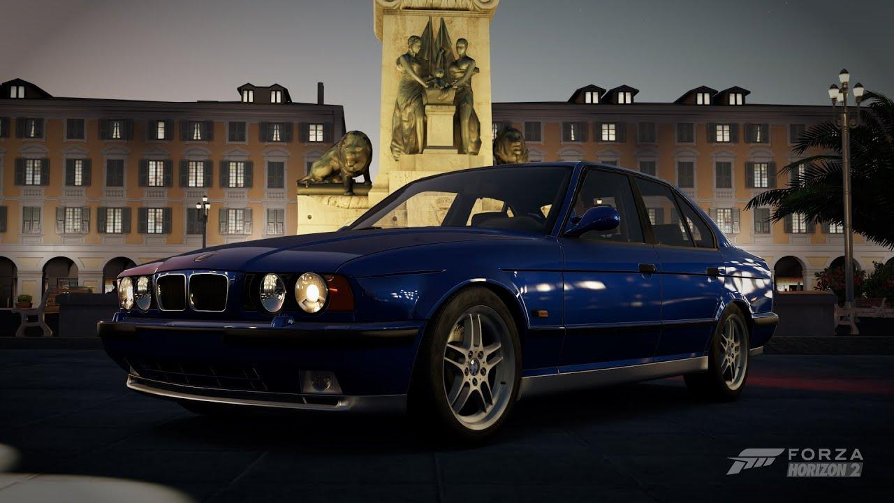 Forza Horizon 2 - 1995 BMW E34 M5 - YouTube