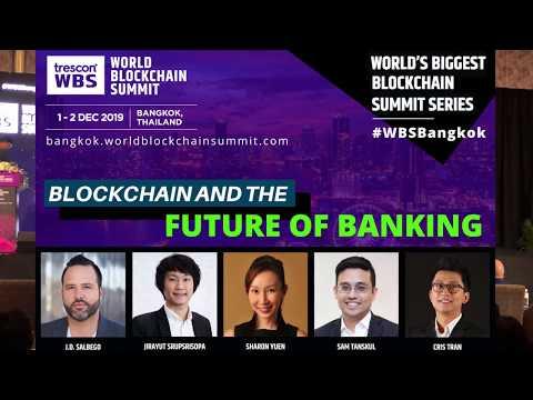 J.D. Salbego Speaks at the World Blockchain Summit 2019 - Bangkok