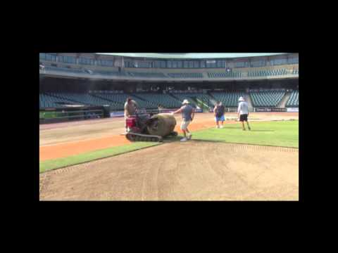 Louisville Slugger Field Installation