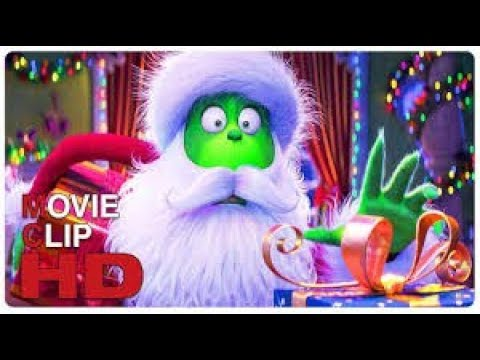Download THE GRINCH Steals Christmas Scene Clip   Trailer NEW 2018 Benedict Cumberbatch Animated Movie HD   Y