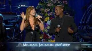"Mariah Carey and Trey Lorenz sing "" I"