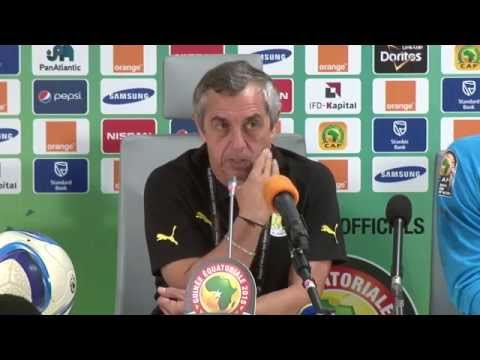 South Africa vs Senegal - Press Conference (23/01) - Orange Africa Cup of Nations, EQG 2015
