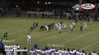 High School Football, JSerra Lions vs. Dana Hills Dolphins, JSerra Homecoming, 9/27/13