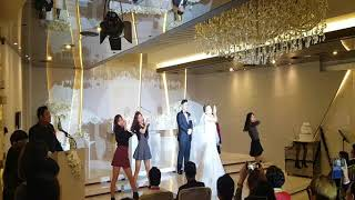 예쁜신부댄스 장난없음. 빨간맛 진짜 예쁜신부댄스 결혼식 Cover