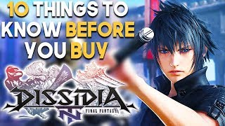 DISSIDIA FINAL FANTASY NT 10 BIG Things You SHOULD Know Before You BUY (Final Fantasy Dissidia PS4)