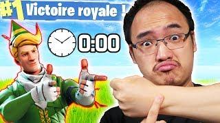 MON TOP 1 LE PLUS RAPIDE ! | Fortnite Battle Royale