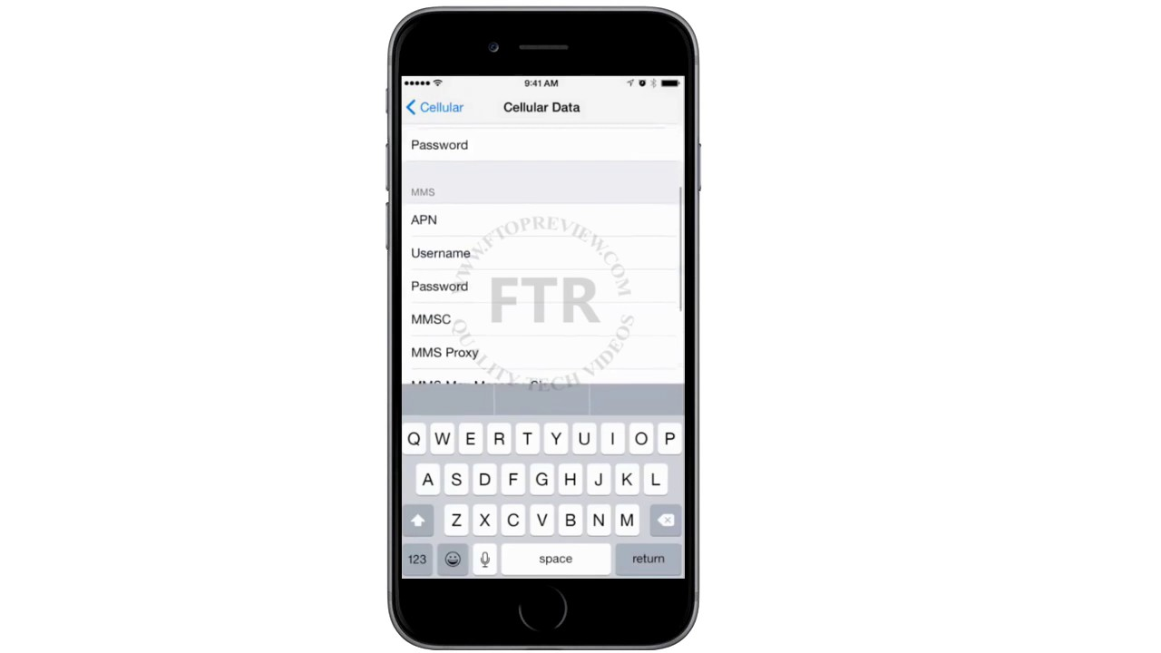 Airtel APN settings for iOS - APN Settings Sri Lanka