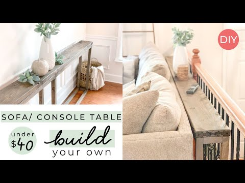 Under $40 Sofa OR Console Table | Easy Build | Ashleigh Lauren