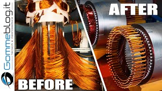 Car Electric Motor CNC Production .. THAT ARE NEXT LEVEL !
