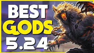 Top 3 Gods for EVERY ROLE to Carry in Patch 5.24 - Smite Guide